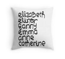 Leading Ladies Throw Pillow