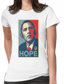 Obama Hope Womens Fitted T-Shirt