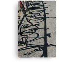 Track bikes at Edwardstown Canvas Print