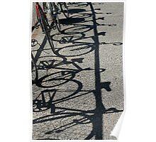 Track bikes at Edwardstown Poster