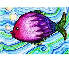 F is for Fish Photographic Print