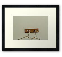 Peace & Quiet Framed Print