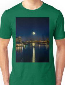 Moon Light City of Boston Unisex T-Shirt
