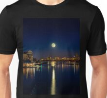 Moon Light City of Boston Unisex T-Shirt