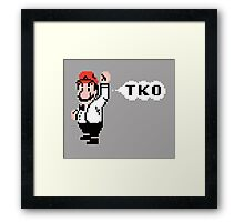 Mario the Referee - Punch Out! Framed Print