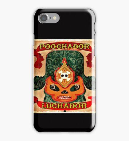 Poochador Luchador iPhone Case/Skin