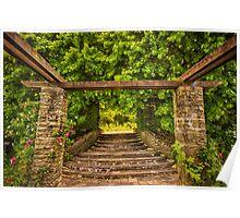 Garden Portico Poster