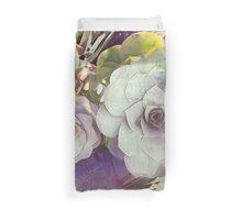 Succulent Tranquility Duvet Cover