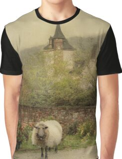 The Old Village Graphic T-Shirt