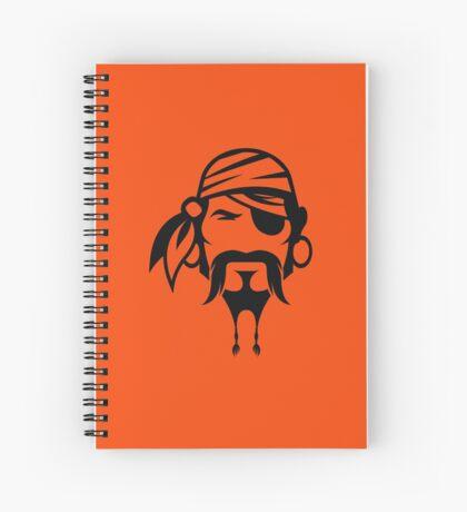 Arrrgh! Prepare for Talk Like A Pirate Day! Spiral Notebook