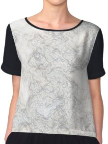 Recycled Crumpled Paper Chiffon Top