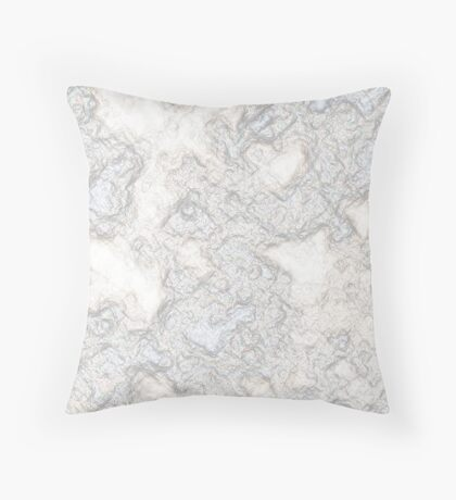 Recycled Crumpled Paper Throw Pillow