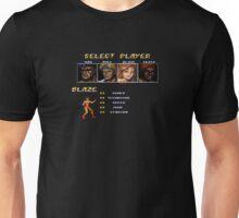 Streets of Rage 2 - Blaze Unisex T-Shirt