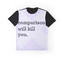 Comparison Graphic T-Shirt