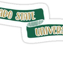 Colorado State University - Style 8 Sticker