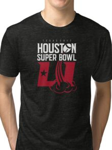 Super Bowl LI 2017 rocket ball Tri-blend T-Shirt
