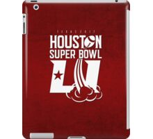 Super Bowl LI 2017 rocket ball iPad Case/Skin
