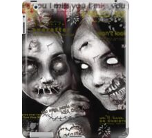 zombie girls iPad Case/Skin