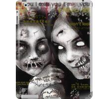 zombie girls iPad Case/Skin