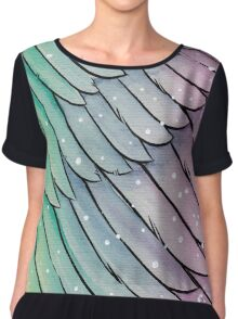 Rainbow angel Chiffon Top