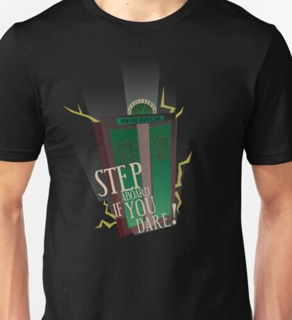 Tower of Terror Final Check-Out Unisex T-Shirt