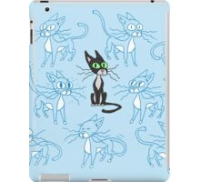 Tesla cat poses iPad Case/Skin