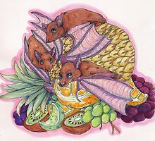 Fruit Bats by thesickgirl