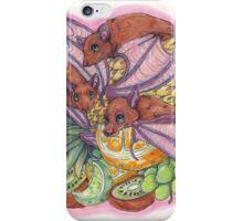 Fruit Bats iPhone Case/Skin