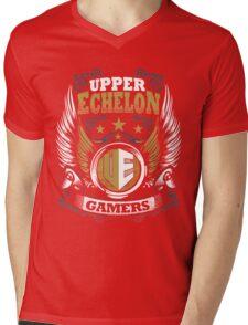 UEG Golden Wings Mens V-Neck T-Shirt