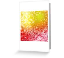 Colorful Christmas Party Background with Bokeh Greeting Card