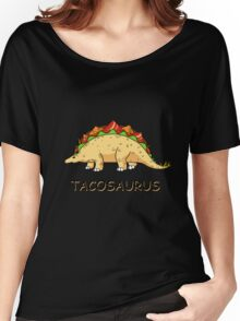 Funny Tacosaurus Dinosaur Tacos Food Mexican T-Shirt Women's Relaxed Fit T-Shirt