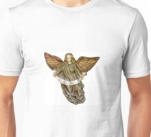 Gold Christmas Angel Unisex T-Shirt