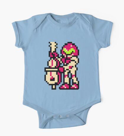 Metroid Musician from Tetris One Piece - Short Sleeve