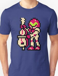 Metroid Musician from Tetris T-Shirt