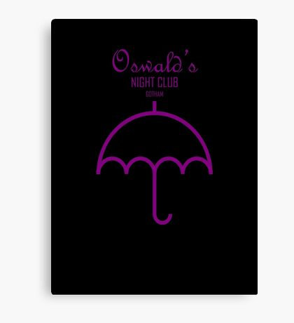Oswald's Night Club Canvas Print