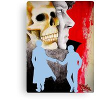 Fatal Deduction Canvas Print