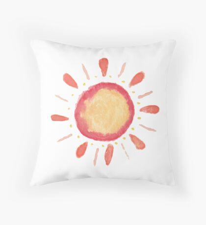 Del Sol Throw Pillow