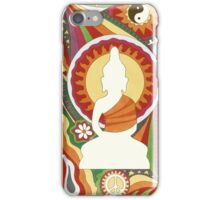 Vintage Psychedelic Buddha iPhone Case/Skin