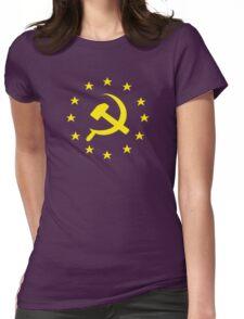 Socialist Europe Communist Womens Fitted T-Shirt