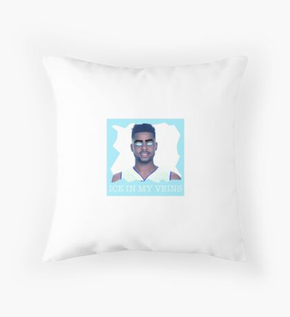 D'Angelo Russel Ice in my veins Throw Pillow