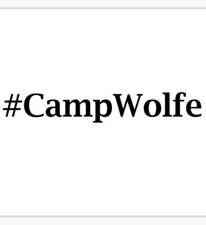 #CampWolfe Sticker