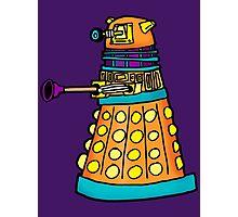 Zack's Little Dalek Photographic Print
