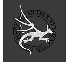 Greathelm Dragon Riders Logo Photographic Print