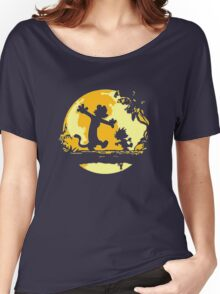 Calvin and Hobbes Tee Shirt Women's Relaxed Fit T-Shirt