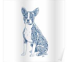 China Boston Terrier Poster