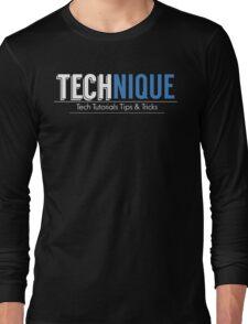 TECHnique @ YouTube.com clothing Long Sleeve T-Shirt