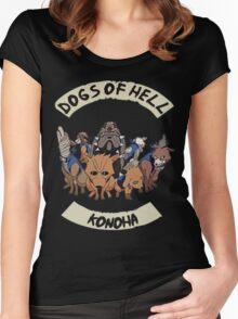 Kakashi Dogs Women's Fitted Scoop T-Shirt