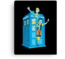 Most Excellent Time Travellers Canvas Print