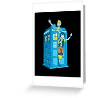 Most Excellent Time Travellers Greeting Card