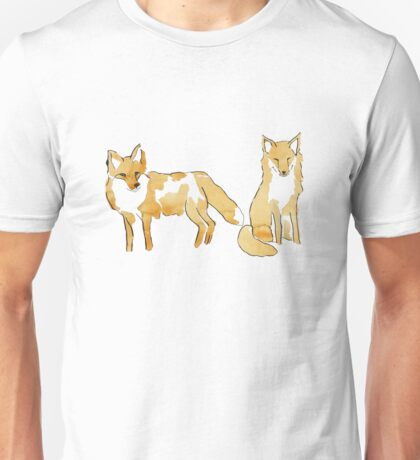 Red foxes Unisex T-Shirt
